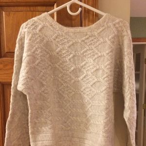 Rachel Ashwell Pullover Sweater Light Grey - M